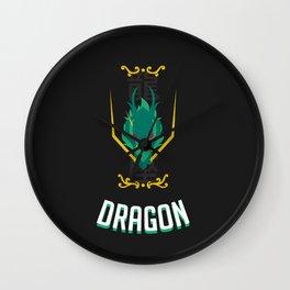 Saint of the Dark Dragon Wall Clock