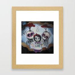Sugar Skull Song Part 2: Lola y Lolo 2011 Framed Art Print