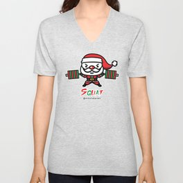 Christmas SQUAT Unisex V-Neck