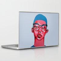 austin Laptop & iPad Skins featuring AUSTIN by Zelda Bomba