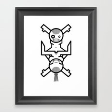 Human Connection Framed Art Print