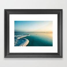 Sea view Dead Sea Sunrise Framed Art Print