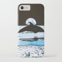 dolphin iPhone & iPod Cases featuring Dolphin by John Turck