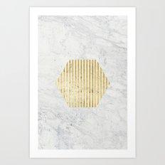 esa gOld Art Print