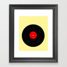 Born to Run Vinyl Framed Art Print