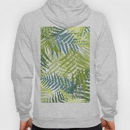 Fern frond seamless pattern Hoody