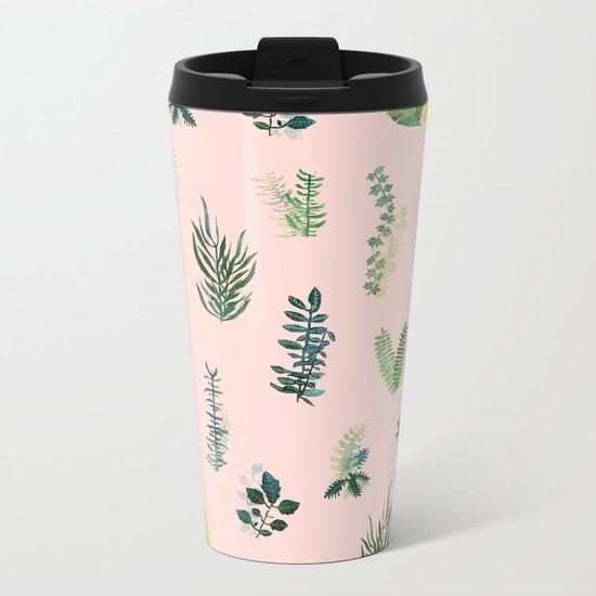 pink may garden!! Metal Travel Mug