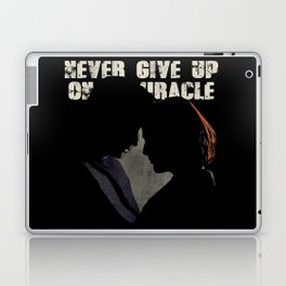 The X-Files - Never Give Up On A Miracle Laptop & iPad Skin