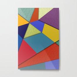Abstract #207 Metal Print
