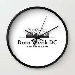 Data Week DC I Wall Clock