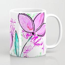 Spring pretty girl flowers Coffee Mug