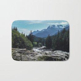 Mountains of Vancouver Island Bath Mat