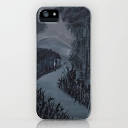 Forest - Knife Painting iPhone Case
