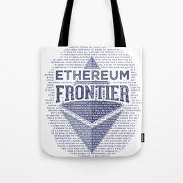 Ethereum Frontier Grunge original Tote Bag