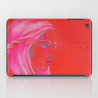 mother of dragons iPad Cases featuring Mother of Dragons by Erin Garey