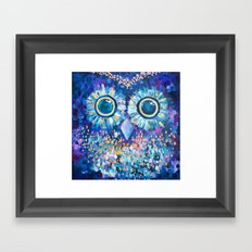 Visions in the Night Framed Art Print