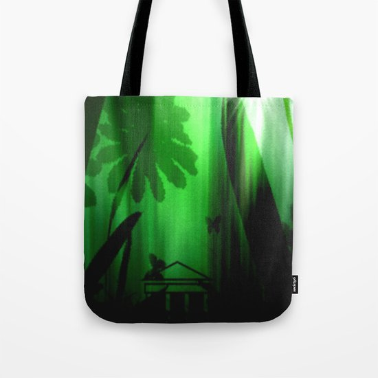 Deep in the rain forest. Tote Bag