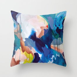 Cooling Abstract Throw Pillow