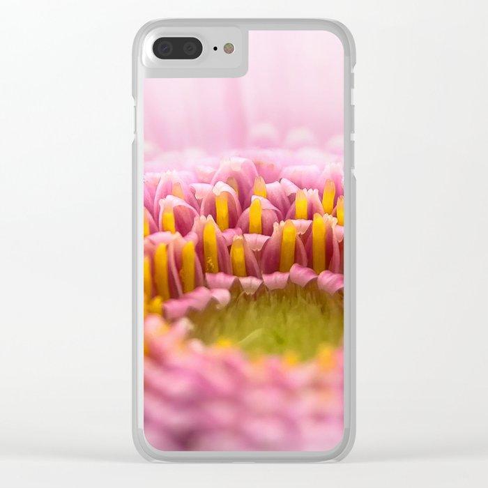 pink petals #decor #society6 #buyart Clear iPhone Case