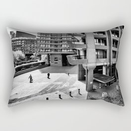 The Three and The Ominious Barbican City Rectangular Pillow