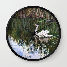 Coasting Along by Teresa Thompson Wall Clock