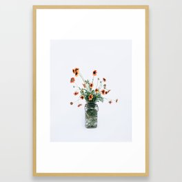 Texas Wildflowers Framed Art Print