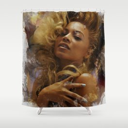 Bey Shower Curtain