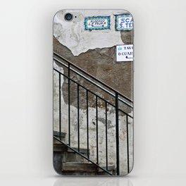 Stairway Capri, Italy iPhone Skin