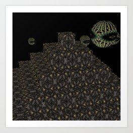 Pyramide Grotesque 34 Art Print
