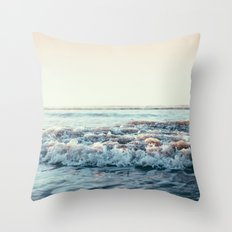 Pacific Ocean Throw Pillow