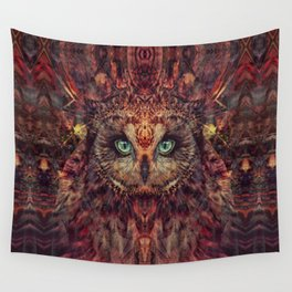 Mystic Owl Wall Tapestry