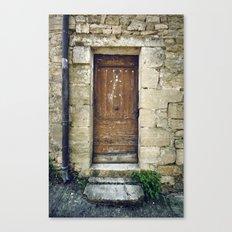 Histoire de portes V Canvas Print