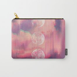 Moontime Glitches Carry-All Pouch