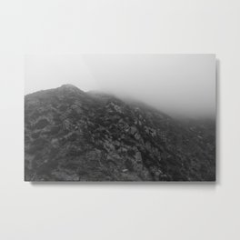 Las Virgenes Canyon Film Noir Metal Print