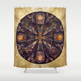 oculus Shower Curtain
