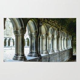 Askeaton Castle Cloisters Rug