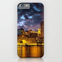 Harbor Lights iPhone Case