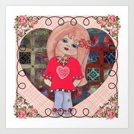 Love Child Art Print