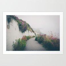Ocean Fog 2 Art Print