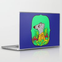 einstein Laptop & iPad Skins featuring Einstein by Popnyville