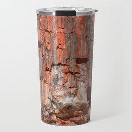 Agathe Log Texture Travel Mug