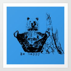 Happy To Bear It With You Art Print