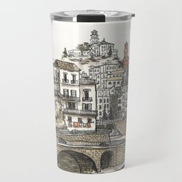 Amalfi Coast memory Travel Mug