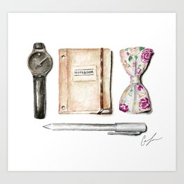 The Essentials Art Print