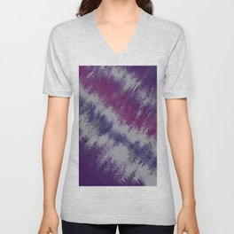 Fantastic purple Unisex V-Neck
