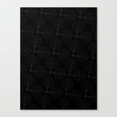 Cranks (Dark) Canvas Print