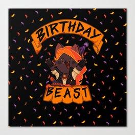 Birthday Beast (2018) Canvas Print