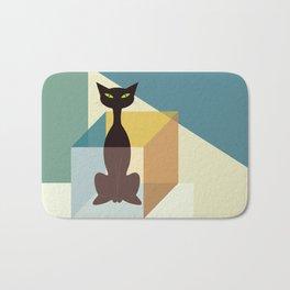 Schrodinger's cat Bath Mat