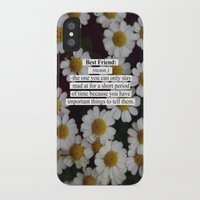 best friend iPhone & iPod Cases featuring Best Friend: by Sara Eshak
