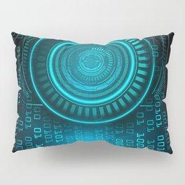 Futurist Matrix   Digital Art Pillow Sham